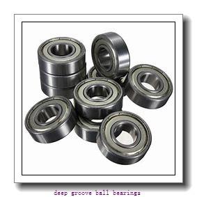 25 mm x 52 mm x 15 mm  ISB 6205-ZZNR deep groove ball bearings