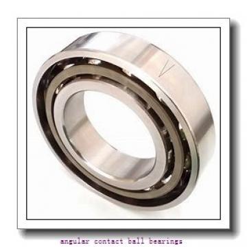 38,1 mm x 47,625 mm x 4,763 mm  INA CSEAA 015 TN angular contact ball bearings