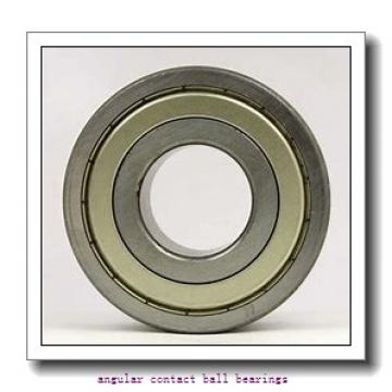 75 mm x 130 mm x 25 mm  NKE 7215-BE-TVP angular contact ball bearings