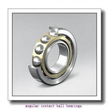 260 mm x 340 mm x 38 mm  NSK BA260-4WSA angular contact ball bearings
