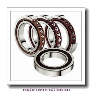 ISO QJ1019 angular contact ball bearings