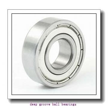 20 mm x 42 mm x 8 mm  NACHI 16004 deep groove ball bearings