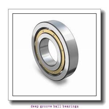 110 mm x 170 mm x 28 mm  ISO 6022-2RS deep groove ball bearings