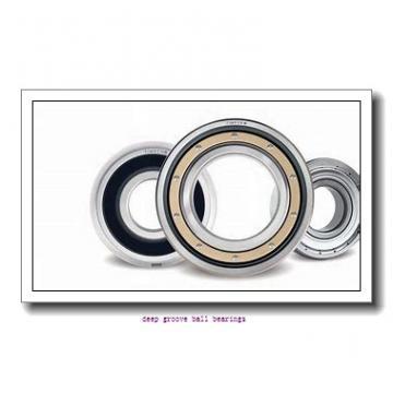7,938 mm x 12,7 mm x 3,967 mm  NMB RIF-8516ZZ deep groove ball bearings