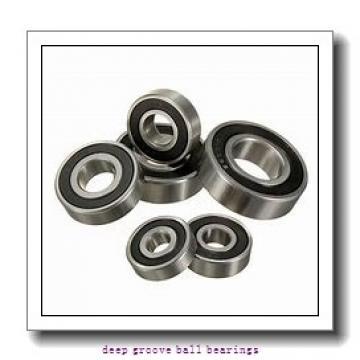 70 mm x 125 mm x 24 mm  Timken 214K deep groove ball bearings