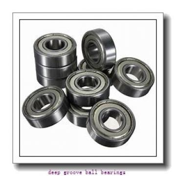 60 mm x 95 mm x 11 mm  KOYO 16012 deep groove ball bearings