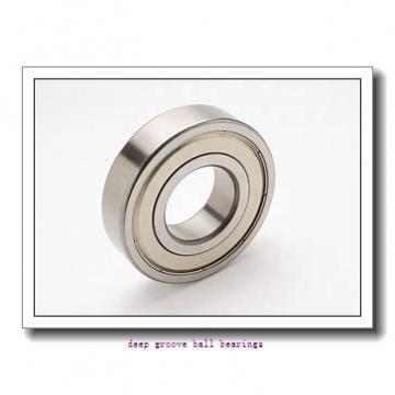 190,5 mm x 254 mm x 31,75 mm  Timken 75BIC348 deep groove ball bearings