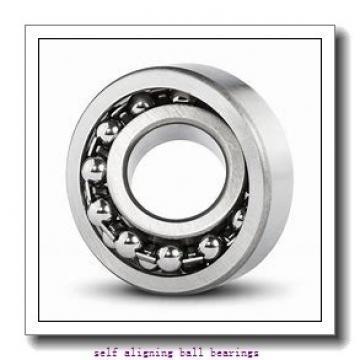 100 mm x 215 mm x 47 mm  ISO 1320 self aligning ball bearings