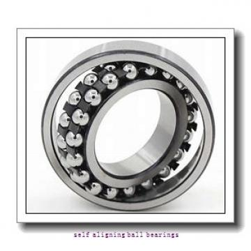 55 mm x 120 mm x 43 mm  ISB 2311 K self aligning ball bearings