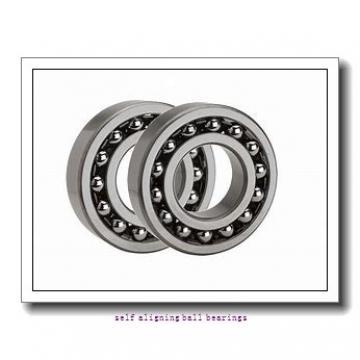 90 mm x 190 mm x 43 mm  ISO 1318K+H318 self aligning ball bearings