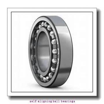 20 mm x 52 mm x 15 mm  KOYO 1304K self aligning ball bearings