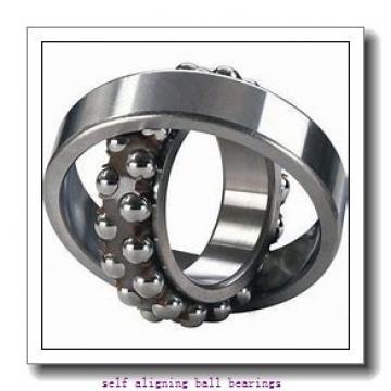 25 mm x 62 mm x 24 mm  NSK 2305 self aligning ball bearings