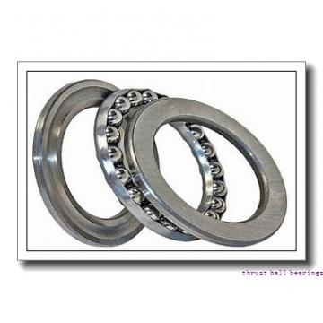50 mm x 140 mm x 23 mm  NKE 54413-MP thrust ball bearings