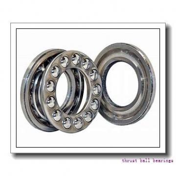 ISO 53207U+U207 thrust ball bearings
