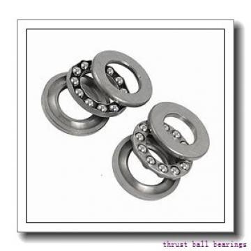 190 mm x 340 mm x 92 mm  SKF NU 2238 ECML thrust ball bearings