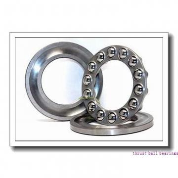 120 mm x 215 mm x 58 mm  SKF NU 2224 ECNML thrust ball bearings