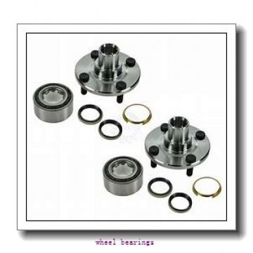 Toyana CX673 wheel bearings