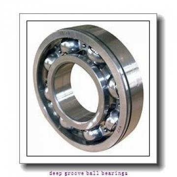 6 mm x 19 mm x 6 mm  SKF W626 deep groove ball bearings