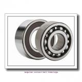 240 mm x 440 mm x 72 mm  NKE 7248-B-MP angular contact ball bearings